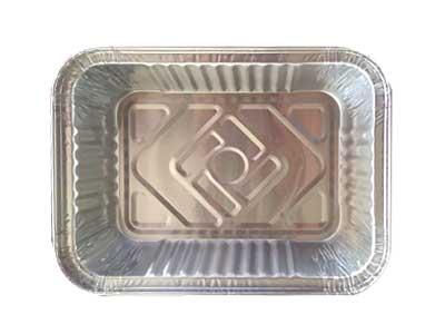bandeja descartable de aluminio